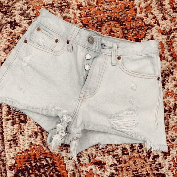 Levi's Pants - Vintage Levi Denim Shorts